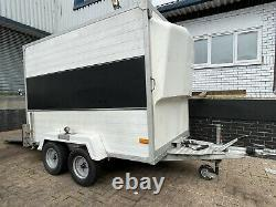 Twin axle box trailer! Enclosed With Electrics And Ramp