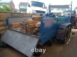 Twin axle builders trailer 10x4 3500kg