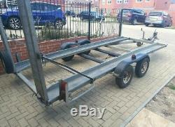 Twin axle car Transporter Trailer 14ft