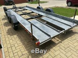 Twin axle car Transporter Trailer 16ft