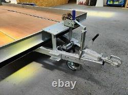 Twin axle car trailer