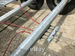 Twin axle car transporter trailer GREAT CONDITION 5m x 2.2m