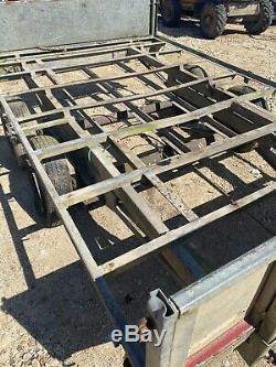 Twin axle galvanised graham edwards trailer 3500kg