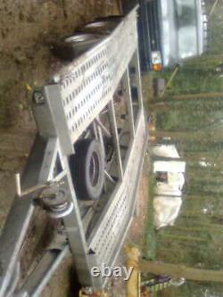 Twin axle galvanised trailer