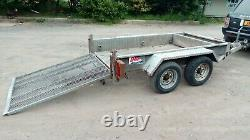 Twin axle indespension plant trailer 2600kg