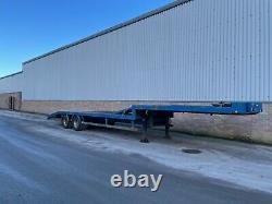 Twin axle low loader trailer