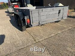Twin axle plant trailer Number ET15