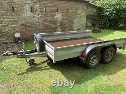 Twin axle trailer 10x6
