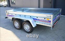 Twin axle trailer 750kg