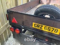 Twin axle trailer heavy duty perfect condition