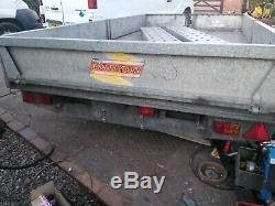 Twin axle trailer, plant trailer, 12 x 6 trailer, Bateson Trailer