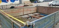 Twin axle utility trailer 3m x 2m old skool with suspension project 1.7kilo