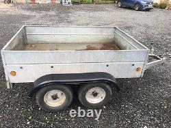 Used car trailer twin axle 6x4ft