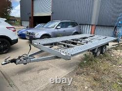 Used twin axle trailer