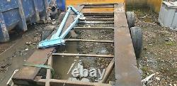 Very Heavy Duty Twin Defender Axle Braked Large Trailer Unfinished Project