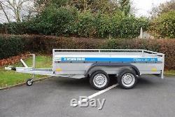 Wheels 4 Heavy Duty Car Trailer 10x5 Twin Axle 2700kg + Heavy Duty Trailer Free