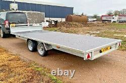 WhiteRock Flatbed 126 Trailer 12' x 6' Twin Axle Braked 3000kg