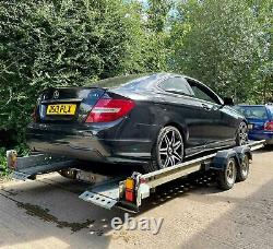 Woodford Twin Axle Tilting Car Trailer 3000kg Load Capacity