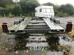 Woodford WBT020 Lightweight, Widebody Twin Axle Car Trailer/Transporter