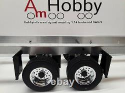 1/14 Remorque Double Axle Super Carson Compatible Tamiya, Assemblée
