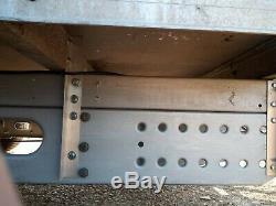 2000 KG Double Axle Box Remorque
