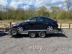 2001 Bateson Transporteur De Voiture Remorque Lit Tilt Twin Axle Winch Un Propriétaire