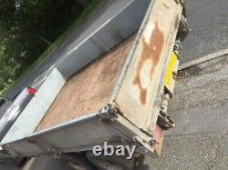 2009 Utilisé Graham Edwards 10ft X 6ft Twin Axle Tipper Trailer +tva