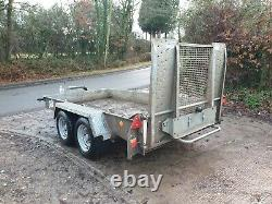 2013 Ifor Williams Gh1054bt 3,5 Tonnes Twin Axle Plant Digger Remorque £1995+vat