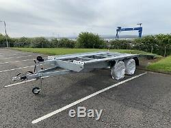 2019 Borq Double Essieu Voiture Véhicule Remorque Transporter 4.5 X 2.1 Mètres 2700kg DMC
