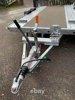 2020 Woodford Wbt-110 Wide Body Twin Axle Car Transporter Trailer 14' X 6'6 Lit