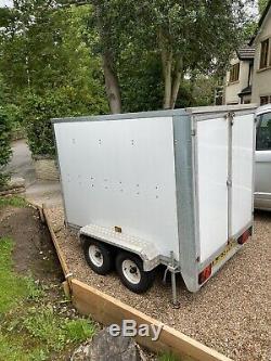 7x4 Box Double Essieu Remorque