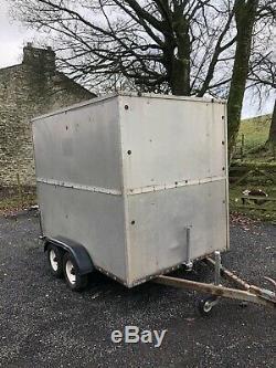 8x5 Double Axle Box Remorque