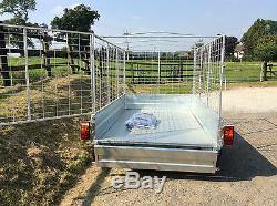 8x5 Twin Axle Sans Frein, Caged, Remorque De Boîte