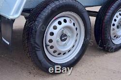 9 X 4 Box Trailer 750kg Al-ko Suspension 2,7m X 1,26m Twin Axle Trailer