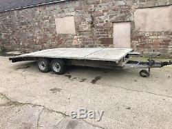 Bateson Car Transporter Remorque 16ft / Beavertail Double Axle Trailer
