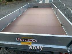 Bateson Platform Twin Axle Trailer With Sides 2020 Galvanisé