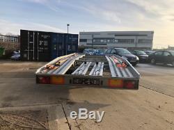 Boro Car Transporter Remorque 2700kg 550kg Double Essieu