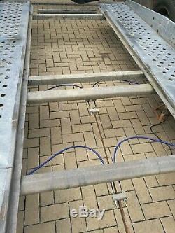 Brenderup Double Essieu Tilted Remorque Transporteur De Voitures 13ft