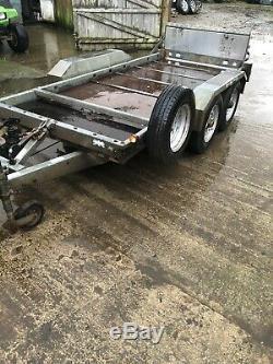 Brian James 10x5 Galvanisé Double Axle Tilt Bed Usine Remorque