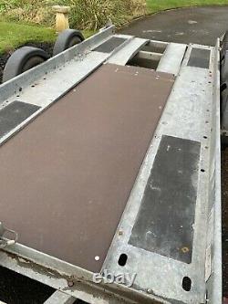 Brian James 14' Twin Axle Car Transporter Remorque