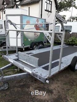 Brian James A Car Max Car Transporter Remorque Double Essieu De Course Peut-il Livrer 2600 KG