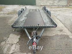 Brian James Car Transporter Remorque 16ft, 4.8m Long Lit Double Essieu
