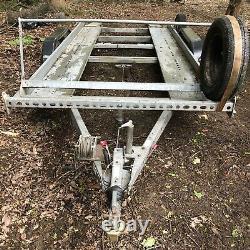 Brian James Clubman Voiture À Deux Essieux Remorque Transporteur Avec Porte-pneumatiques