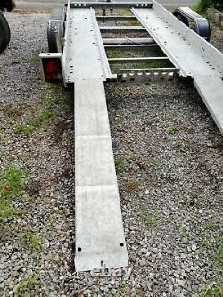 Brian James Double Axle Car Transporter / Remorque