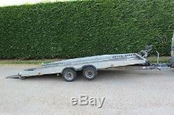 Brian James Himax Twin Axle Tilt - Remorque Voiture De 3,5 Tonnes + Treuil Manuel (£ 5k Nouveau)