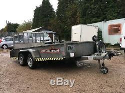 Brian James Remorque Cargo Shifter, Grande Remorque En Acier 3000kg £ 1995