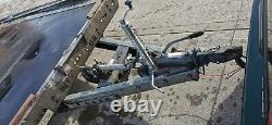 Brian James Twin Axle Car Transporter Trailer Remis À Neuf 18' X 7' Lit