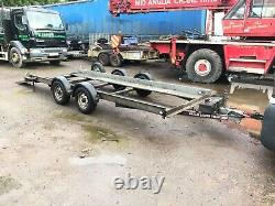 Brian James Twin Axle Car Transporter Trailer With Ramps And Winch