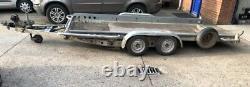 Brian James Twin Essieu Tilt Bed Car / Van / 4x4 Transporter Trailer 2700kg