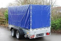 Car Box Remorque 10ft X 5ft Double Essieu 2700 KG Remorque Voiture Essieu Freinée